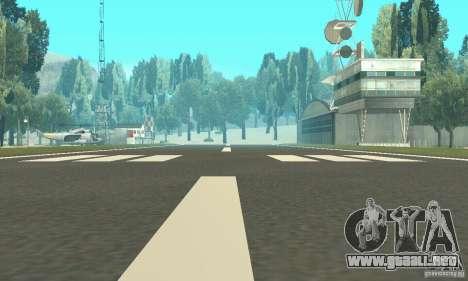 Un aeropuerto abandonado en el desierto para GTA San Andreas