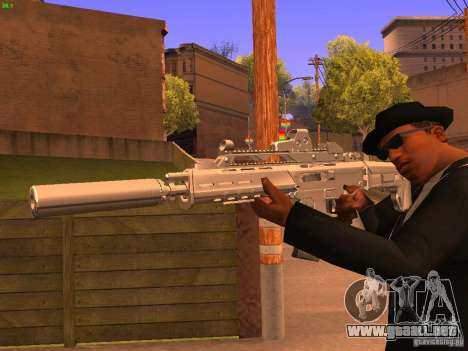 TeK Weapon Pack para GTA San Andreas séptima pantalla
