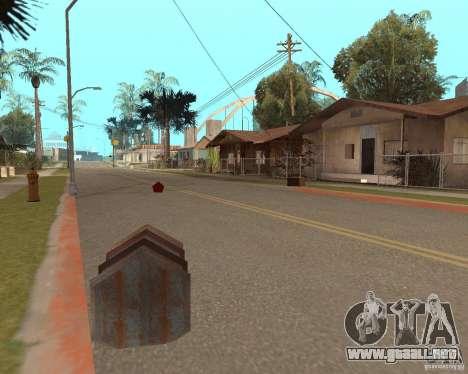 Remapping Ghetto v.1.0 para GTA San Andreas tercera pantalla
