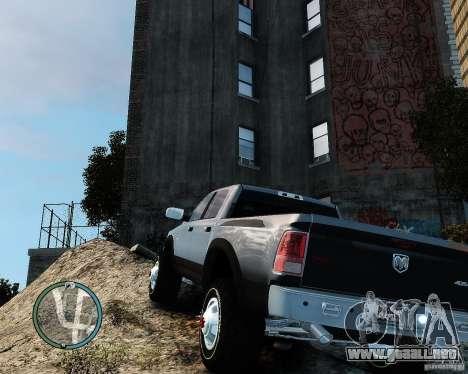 Dodge Ram 3500 Stock para GTA 4 visión correcta