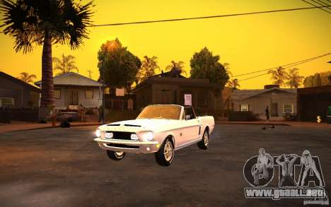 ENBSeries v1.0 por GAZelist para GTA San Andreas segunda pantalla