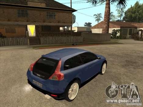 VOLVO C30 Sport 2009 para la visión correcta GTA San Andreas