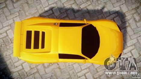 Watson R-Turbo Roadster para GTA 4 visión correcta