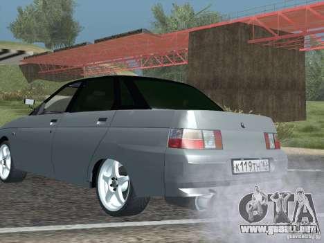LADA 21103 Maxi para GTA San Andreas vista posterior izquierda