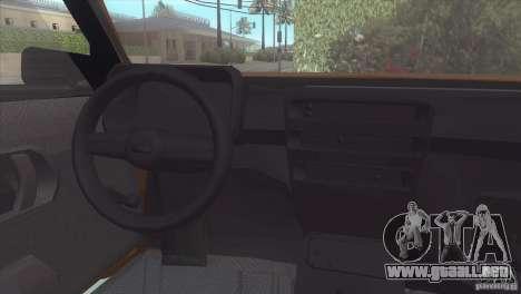 Fiat Cinquecento para la visión correcta GTA San Andreas