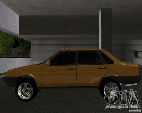 Vaz 21099 luz sintonizado para GTA Vice City left