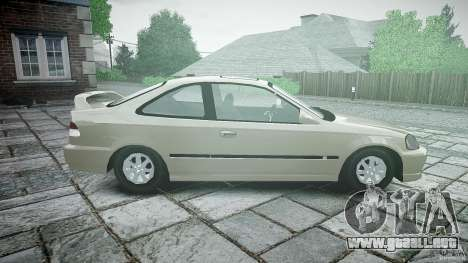 Honda Civic Coupe para GTA 4 left