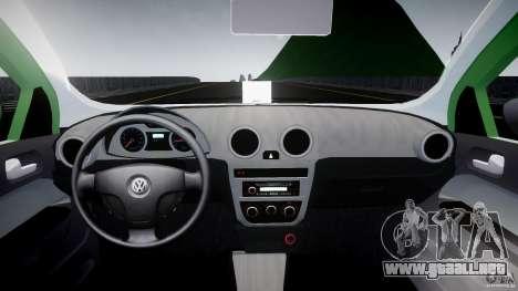 Volkswagen Gol Rallye 2012 v2.0 para GTA 4 visión correcta