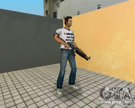 AK-47 con un grenade launcher М203 para GTA Vice City quinta pantalla