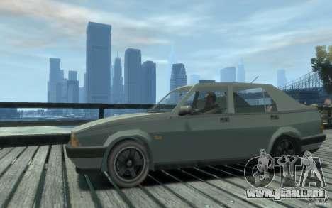 Alfa Romeo 75 para GTA 4 Vista posterior izquierda