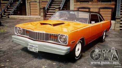 Dodge Dart GT 1975 [Final] para GTA 4