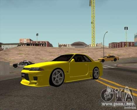 Nissan Skyline R32 Bee R para GTA San Andreas left