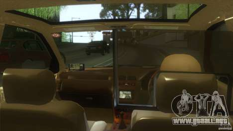 Nissan Cefiro A32 Kouki Japanese Taxi para GTA San Andreas vista posterior izquierda
