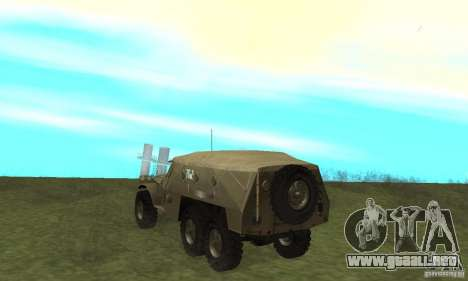 BTR-152 para la visión correcta GTA San Andreas