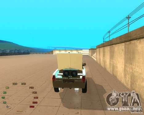 GAZ Volga 2410 el Cabrio para la visión correcta GTA San Andreas