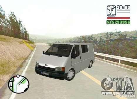 Ford Transit 1999 para GTA San Andreas