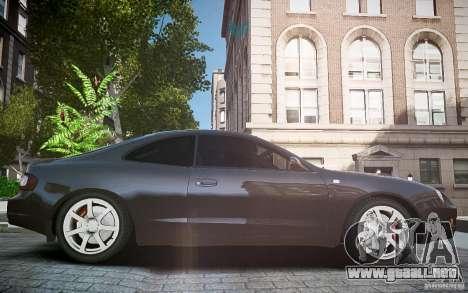 Toyota Celica GT-FOUR para GTA 4 vista interior