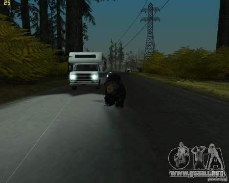 Oso para GTA San Andreas segunda pantalla