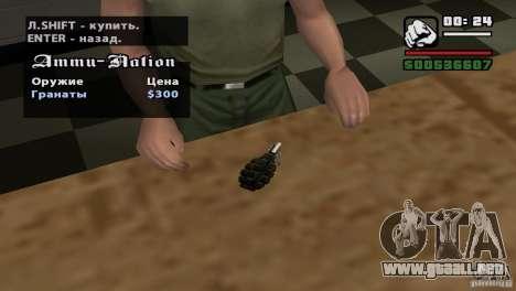 Asamblea de HD para GTA San Andreas décimo de pantalla