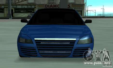 Lada Priora 2012 para GTA San Andreas left