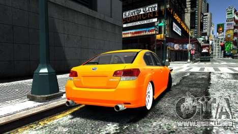 Subaru Legacy B4 para GTA 4 left