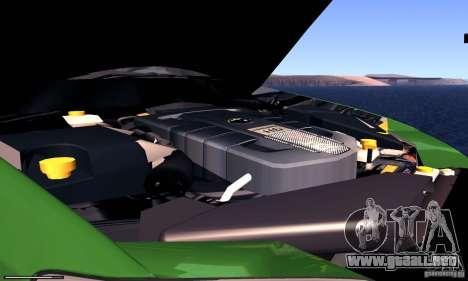 Subaru Legacy 2004 v1.0 para visión interna GTA San Andreas