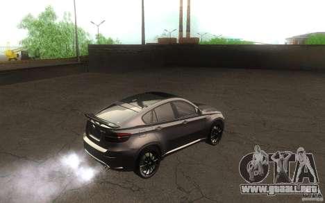 Bmw X6 M Lumma Tuning para la visión correcta GTA San Andreas