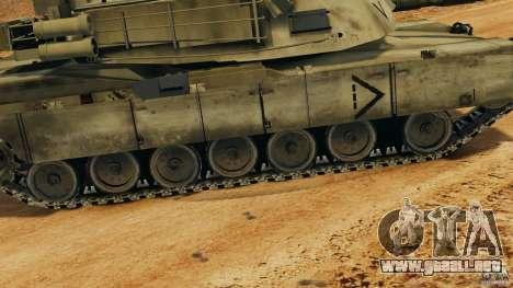 M1A2 Abrams para GTA 4 interior