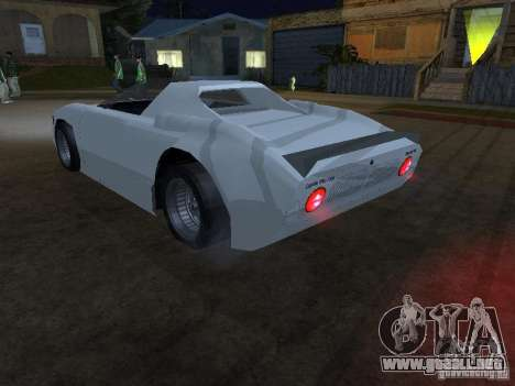 Cup Car para GTA San Andreas left