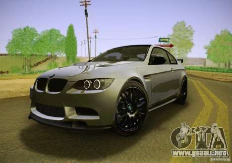 BMW M3 GT-S Final para GTA San Andreas
