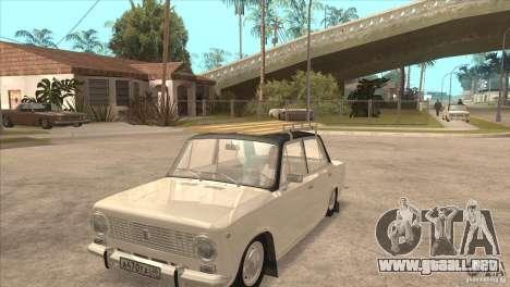 VAZ 2101 Dag para visión interna GTA San Andreas