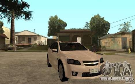Chevrolet Lumina 2010 para GTA San Andreas vista hacia atrás