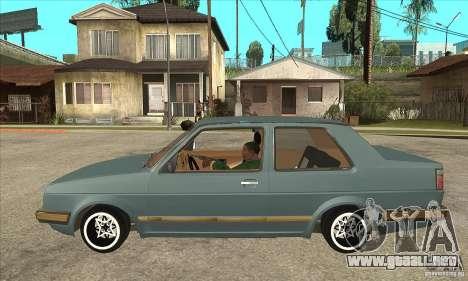 Volkswagen Jetta MKII VR6 para GTA San Andreas left