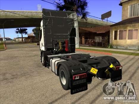 Renault Premium para GTA San Andreas left