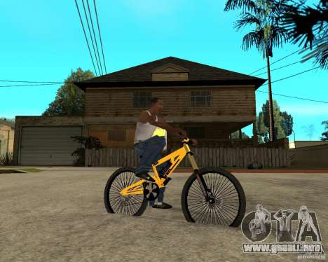 Nox Startrack DH 9.5 para GTA San Andreas