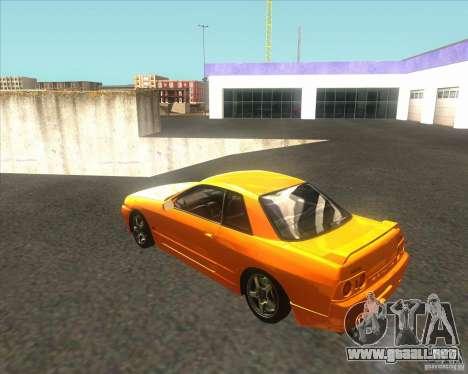 Nissan Skyline R32 GTS-T type-M para GTA San Andreas left