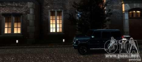 Mercedes-Benz G65 AMG [W463] 2012 para GTA 4 vista desde abajo