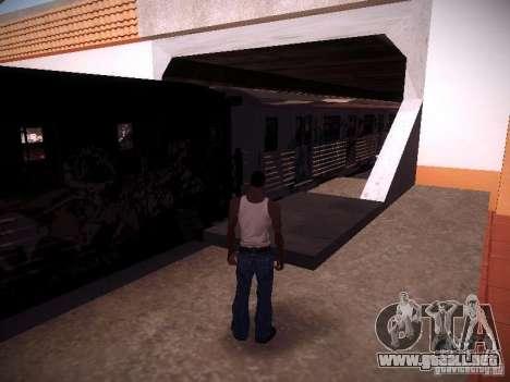 El tren de GTA IV para GTA San Andreas vista posterior izquierda