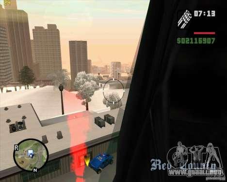 U.S.M.C. Desant para GTA San Andreas tercera pantalla