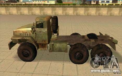 Ural-44202 para GTA San Andreas left
