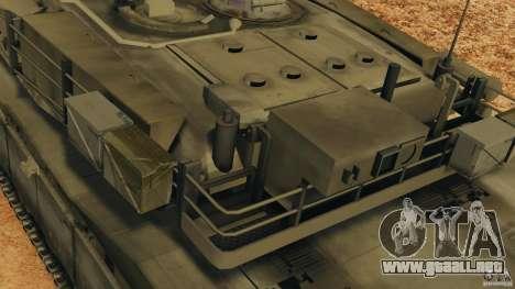 M1A2 Abrams para GTA 4 ruedas