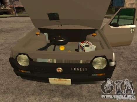 Fiat Ritmo para visión interna GTA San Andreas