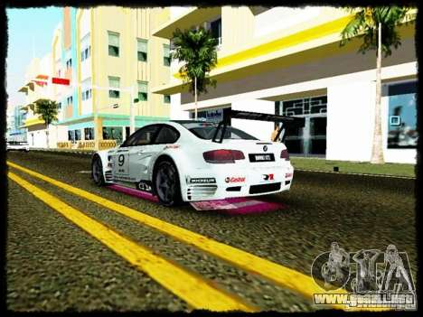 BMW M3 GT2 para GTA Vice City vista interior