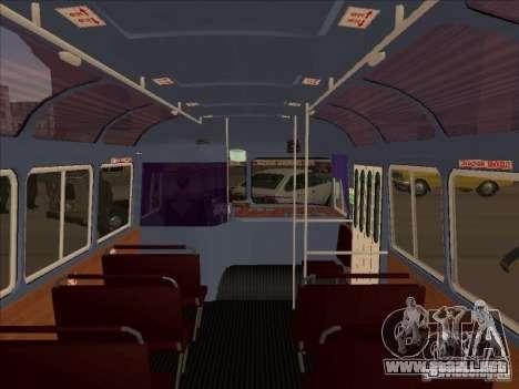 PAZ 672 para visión interna GTA San Andreas