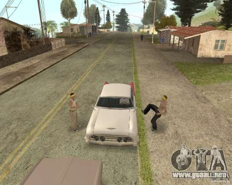 More Hostile Gangs 1.0 para GTA San Andreas octavo de pantalla