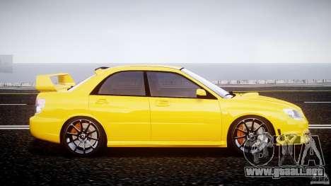 Subaru Impreza STI para GTA 4 vista interior