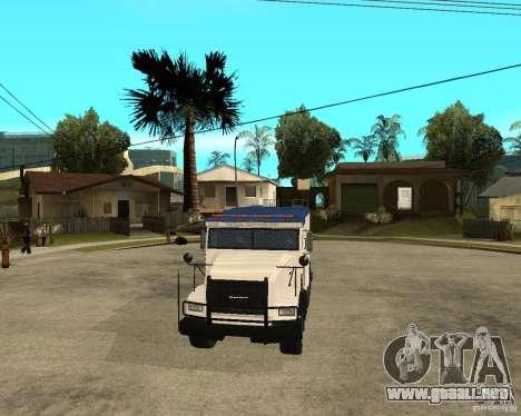 NSTOCKADE de GTA IV para GTA San Andreas vista hacia atrás