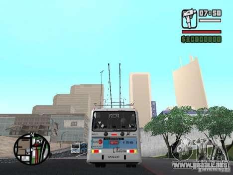 Marcopolo Torino GV Trolebus para la visión correcta GTA San Andreas