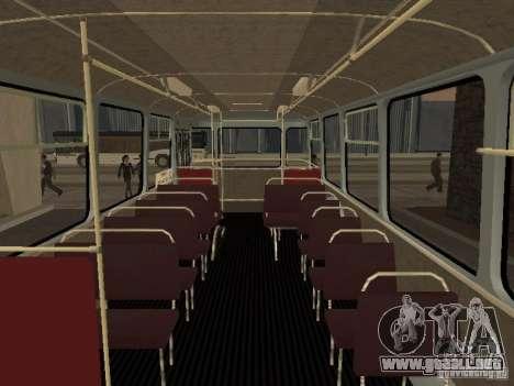 677 LIAZ para visión interna GTA San Andreas