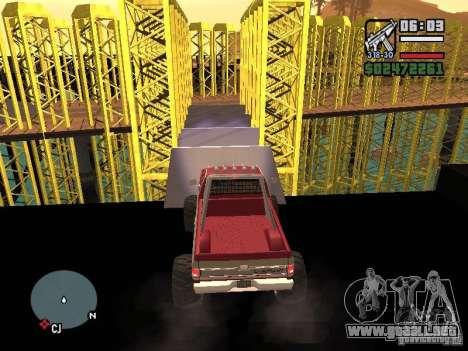 Monster tracks v1.0 para GTA San Andreas octavo de pantalla